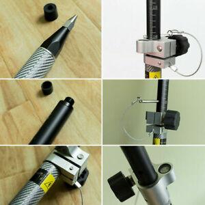 Universal Telescopic Carbon Fiber RTK/GPS Pole for Trimble Topcon Sokkia, 240cm