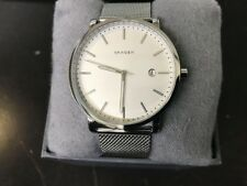 Skagen SKW6281 Men's Hagen White Dial Watch w/ Mesh Strap