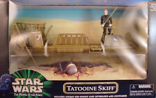 1999 Star Wars Power of the Force Tatooine Skiff w/ Jedi Luke Skywalker POTF