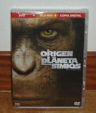 EL ORIGEN DEL PLANETA DE LOS SIMIOS COMBO BLU-RAY+DVD NUEVO PRECINTADO ACCION R2