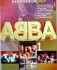 Akkordeon Noten : ABBA Heft 1 mittelschwer  - (Akkordeon pur) VHR 1808