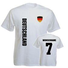 Deutschland KINDER BABY T-Shirt Trikot - WM 2014 - NAME + NR -Gr. 92 98 104 116