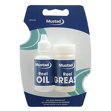 Mustad Reel Oil Grease Kit Spinning Baitcasting Any Fishing Reels OK #A1