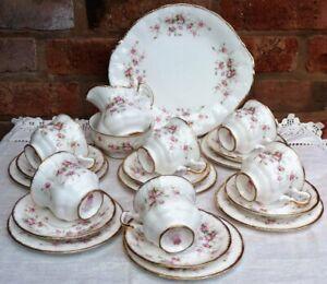 Vintage Paragon china Victoriana Rose tea set