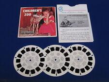 SAN DIEGO CHILDREN'S ZOO #B617 VIEW-MASTER PACK 1958
