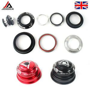 MTB Bike 34/44/44-55/44-56mm Cycling Headset AL For 28.6mm Straight/Tapered Fork