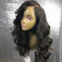 Unprocessed Malaysian Human Hair 13*6 Lace Front Wig Pre Plucked Glueless Wigs