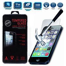 100% authentique clair véritable écran verre trempé housse protector pour iPhone SE uk