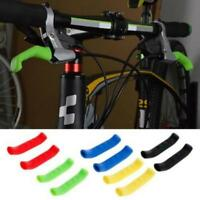 2 pcs Brake Handle Silicone Sleeve Mountain Bike Brake Lever Protection Covers