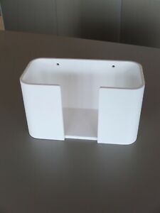 Decor Walther Wand Papiertuchbehälter weiß/ Edelstahl matt Gästezimmer