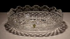 VINTAGE WATERFORD CRYSTAL MASTER CUTTER KENNEDY BOWL ~ MADE IN IRELAND