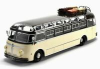 ISOBLOC 648DP BUS MODEL 1:43 SIZE IXO FRANCE 1955 COACH CREAM/BLACK