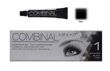 Kit teinture cils et sourcils Combinal couleur noir