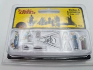 HO SCALE - WOODLAND SCENICS - WELDERS & ACCESSORIES - A1871