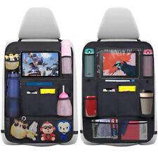 Auto Rückenlehnenschutz,2 Stk Auto Rücksitz Organizer für Kinder,Autositzschoner