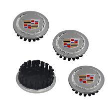 4pcs Silver Wheel Emblem Center Hub Caps For Cadillac ATS XTS STS 66mm 9597375