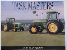 1991 John Deere 65 - 100 HP 55 Series Tractor Dealer Brochure LOTS More Listed