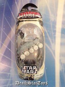 Star Wars Titanium Series Die Cast Metal Clone Turbo Tank AOTC Attack Trooper