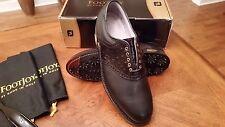Footjoy Classics Dry Premiere Mens Golf Shoes 50709 NEW Blk/Ostrich 11C USA Mfg