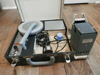 Rare Vintage McClure Projector Picture Phone Model #68 Phonograph Projector Case