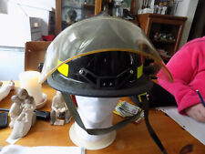 FIREMAN CAIRNS AND BROS N660C HELMET USED WITH VISOR