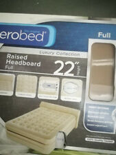 """Aerobed Pillowtop 24"""" Full Size Air Mattress With USB Charger 20171024"""