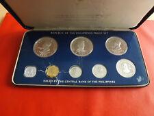 *Philippines Proof Set/KMS 1975 mit Silber Münzen (KOM)