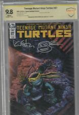 SIGNATURE SECTION:TMNT CBCS 9.8 #97 VARIANT signed by KEVIN EASTMAN