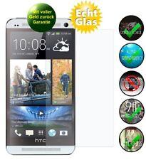 HTC One M7 Panzerglas Schutzfolie 9H Echt Glas Displayschutz Panzerglasfolie