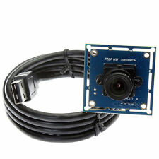 2.1mm Lens UVC Camera Module Board 1MP Webcam Video 720p For Windows Android