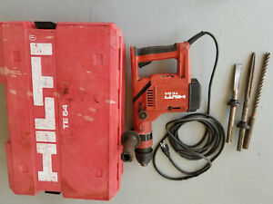HILTI-TE 54  Rotary Hammer Drill Combihammer 56 55 50 60 AMP with bits case