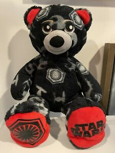 Build-A-Bear Star Wars Bear Reversible First Order/Resistance TIE Fighter X-wing
