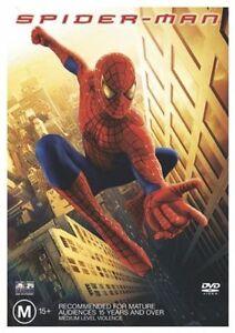 Spider-Man (DVD, 2005) Tobey Maguire, Kirsten Dunst, William Defoe, R4