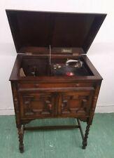 Mechanische Musik Antikes Edephon Schrankgrammophon Grammophon Phonograph Standgerät 110x54x44 Cm Technik & Geräte