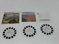 Grand Canyon National Park View-Master 3 Reel Packet Set A361 GAF