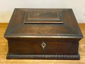Antique Wooden Box For Restoration Ship Worldwide