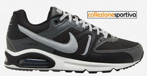 SCARPE UOMO/DONNA NIKE AIR MAX COMMAND LEATHER - CT1691-001 col. grigio/nero