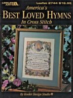 America's Best Loved Hymns Kooler Design LA #2744Cross Stitch Color Charts Book