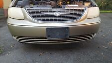 2002 CHRYSLER TOWN COUNTRY FRONT BUMPER COVER OEM GRILLE NOT INCLUDED 2001-2004