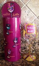 Lolita Birthday Girl Hand Painted 15 Oz Wine Glass!!