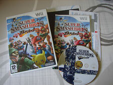 Jeu Wii et Wii U Super Smashbros Brawl complet + code vip non gratté TBE