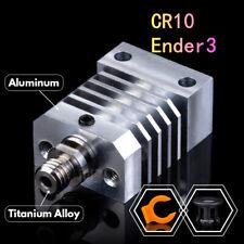 iU3D CR10 Heatsink Titanium Alloy Heat Breaker For Swiss CR-10 Ender 3 Hotend