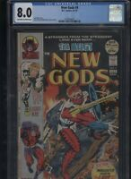 New Gods #9 CGC 8.0 Jack Kirby 1972 Mike Royer