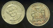 JAMAIQUE 1 dollar  1991