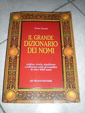 Il grande dizionario dei nomi - Carmen Tancredi