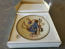 1972 Hummel 2nd Annual Collector's Plate, Hand Painted With Box
