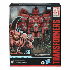 TRANSFORMERS STUDIO SERIES 66 CONSTRUCTICON OVERLORD ACTION FIGURE ROBOT TOY