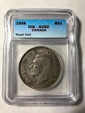 1939 Canadian $1 Coin (C240) - Royal Visit