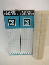 Lot Of (2) New Old Stock! Graphic Recording Chart Paper Rolls 600173 660173