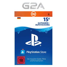PlayStation Network 15 EURO Card Code DE PSN PS4 PS3 - Guthaben 15€ Key